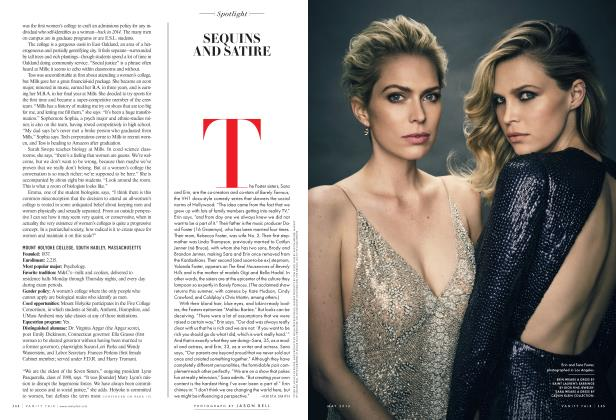 Article Preview: SEQUINS AND SATIRE, May 2016 2016 | Vanity Fair