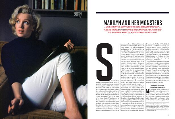 MARILYN AND HER MONSTERS
