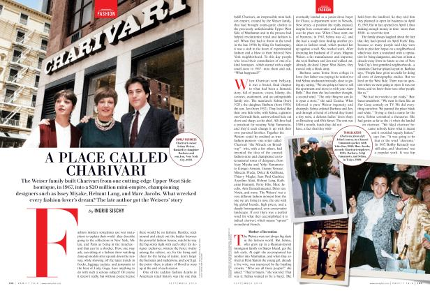 Article Preview: A PLACE CALLED CHARIVARI, September 2016 | Vanity Fair