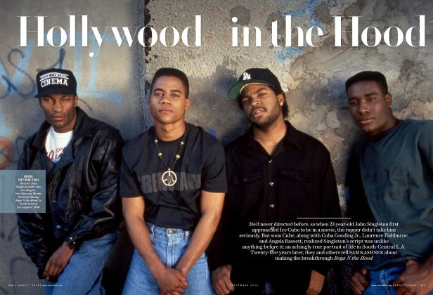 Article Preview: Hollywood in the Hood, September 2016 | Vanity Fair