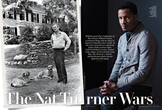 Article Preview: The Nat Turner Wars, September 2016 | Vanity Fair