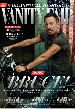 October 2016 | Vanity Fair
