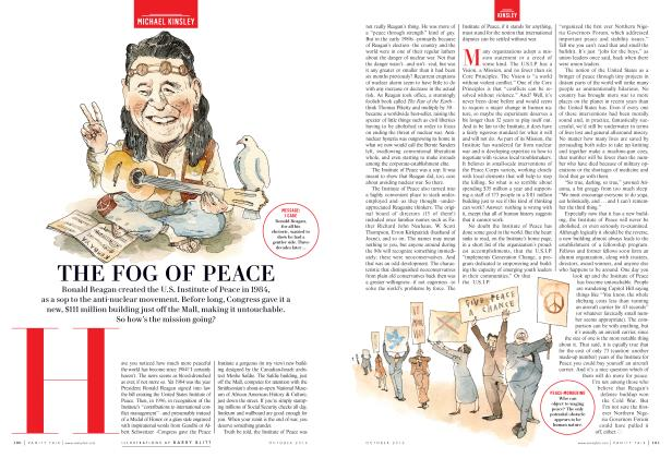 Article Preview: THE FOG OF PEACE, October 2016 2016 | Vanity Fair
