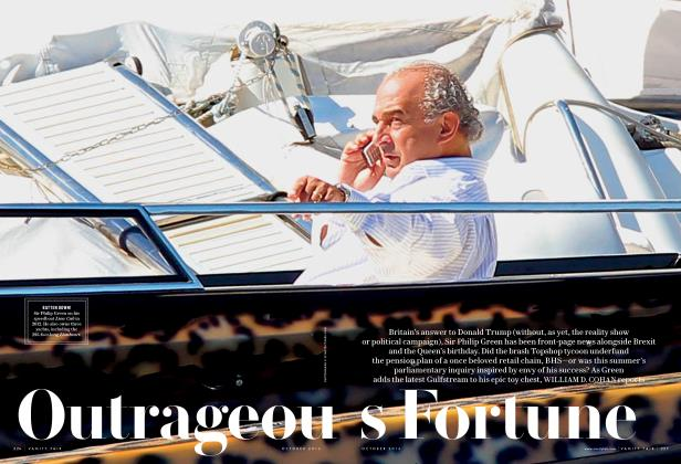 Article Preview: Outrageous Fortune, October 2016 | Vanity Fair