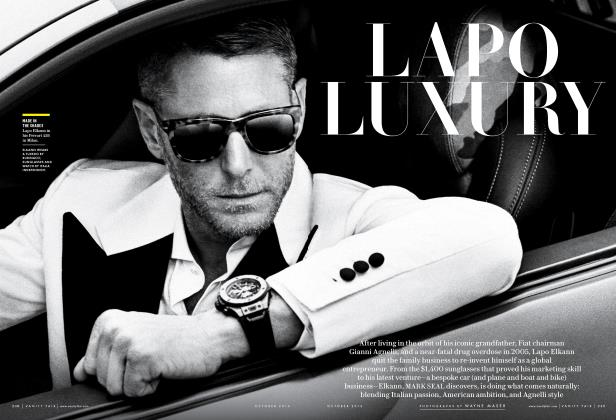 Article Preview: LAPO LUXURY, October 2016 2016 | Vanity Fair