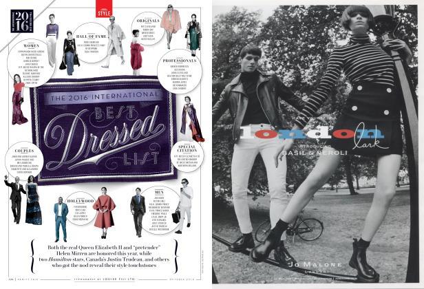 Article Preview: THE 2016 INTERNATIONAL BEST Dressed LIST, October 2016 | Vanity Fair