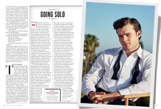 Article Preview: GOING SOLO, November 2016 2016 | Vanity Fair