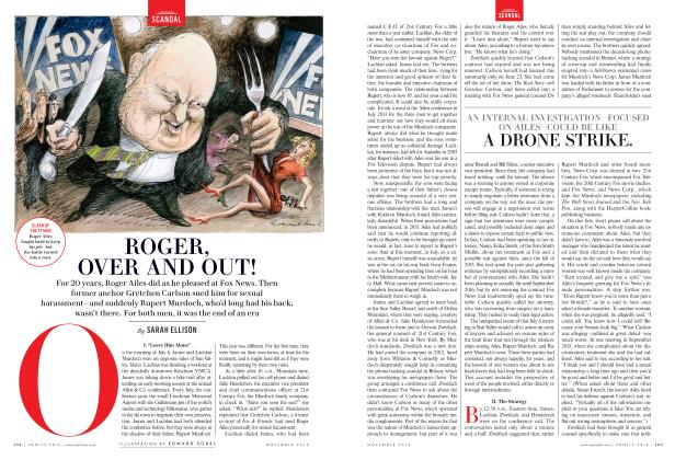 Article Preview: ROGER, OVER AND OUT!, November 2016 | Vanity Fair