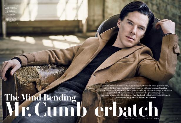Article Preview: The Mind-Bending Mr. Cumberbatch, November 2016 | Vanity Fair