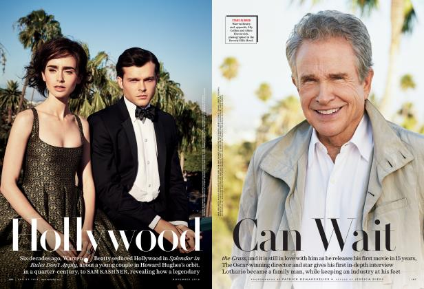 Article Preview: Hollywood Can Wait, November 2016 | Vanity Fair