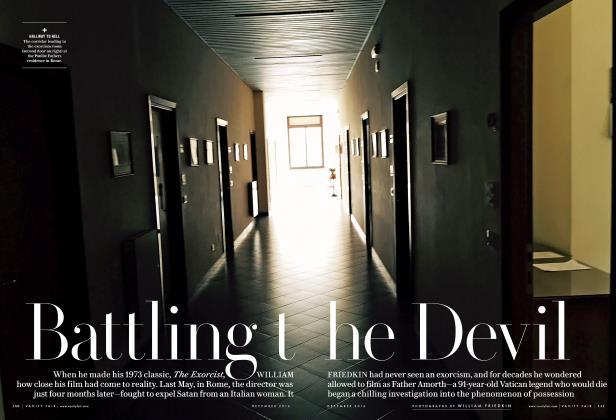 Article Preview: Battling the Devil, December 2016 | Vanity Fair