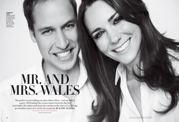 Article Preview: MR. AND MRS. WALES, Special Edition 2016 | Vanity Fair