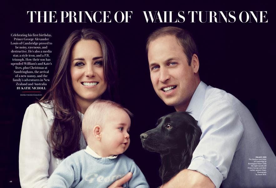 THE PRINCE OF WAILS TURNS ONE