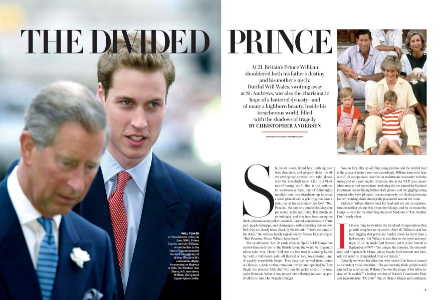 THE DIVIDED PRINCE
