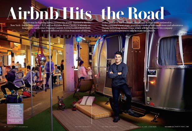 Article Preview: Airbnb Hits the Road, Holiday 2016/2017 2017 | Vanity Fair