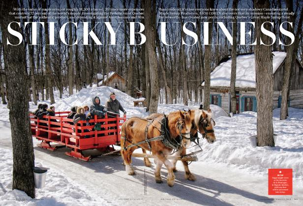 Article Preview: STICKY BUSINESS, Holiday 2016/2017 2017 | Vanity Fair