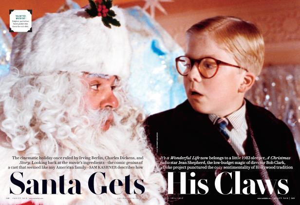 Santa Gets His Claws