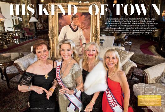 HIS KIND OF TOWN - February | Vanity Fair