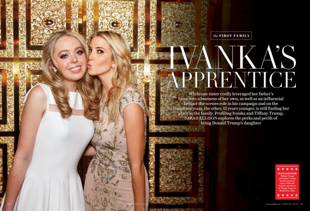Article Preview: IVANKA'S APPRENTICE, February 2017 2017 | Vanity Fair