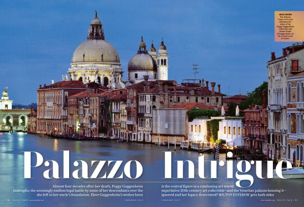 Article Preview: Palazzo Intrigue, February 2017 | Vanity Fair
