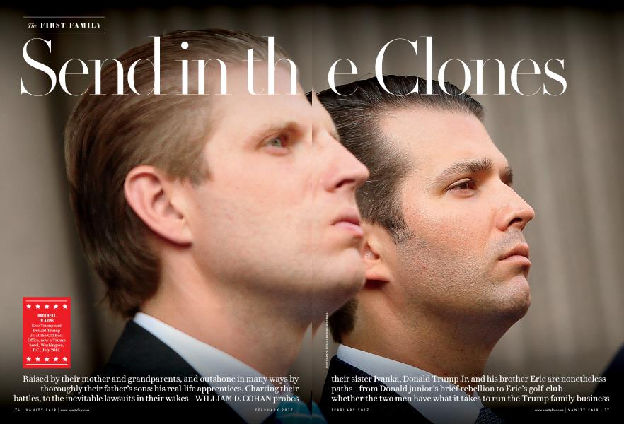 The FIRST FAMILY: Send in the Clones