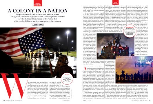 A COLONY IN A NATION - March | Vanity Fair