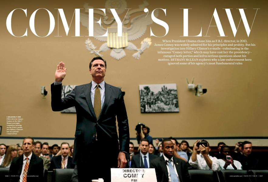 COMEY'S LAW