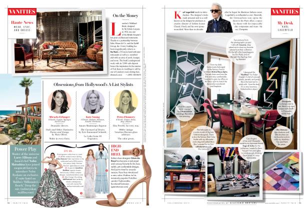 Article Preview: My Desk: Karl Lagerfeld, Hollywood 2017 2017 | Vanity Fair