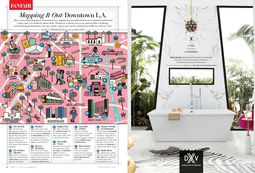Mapping It Out: Downtown L.A.
