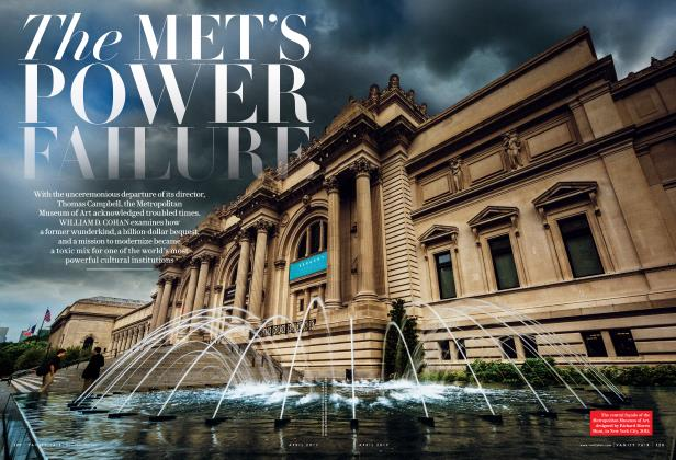 Article Preview: The MET'S POWER FAILURE, April 2017 | Vanity Fair