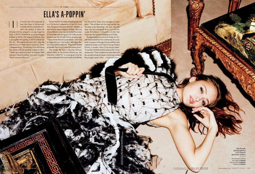 ELLA'S A-POPPIN'