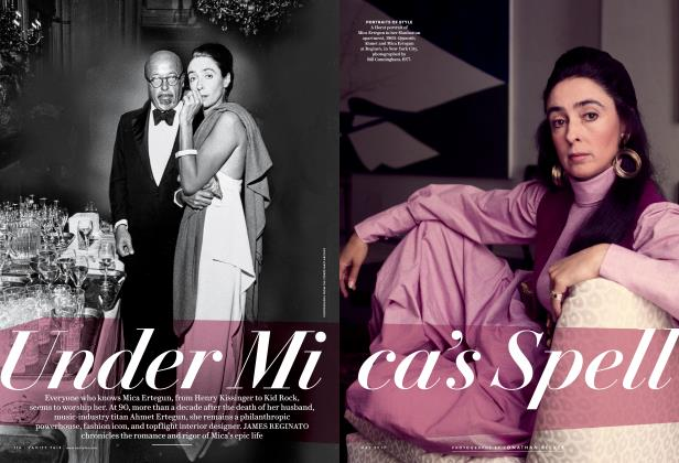 Article Preview: Under Mica's Spell, May 2017 | Vanity Fair