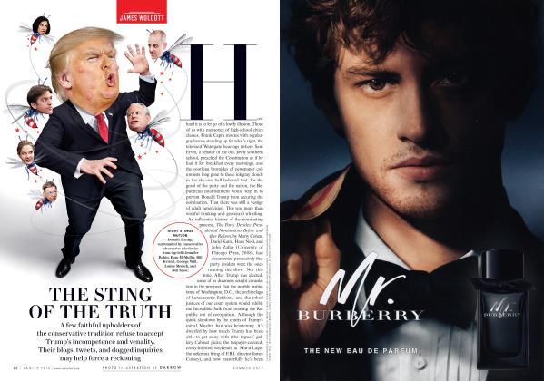 Article Preview: THE STING OF THE TRUTH, Summer 2017 2017 | Vanity Fair