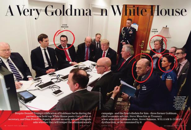 A VERY GOLDMAN WHITE HOUSE