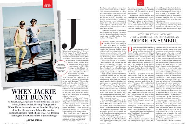 Article Preview: WHEN JACKIE MET BUNNY, October 2017 2017 | Vanity Fair