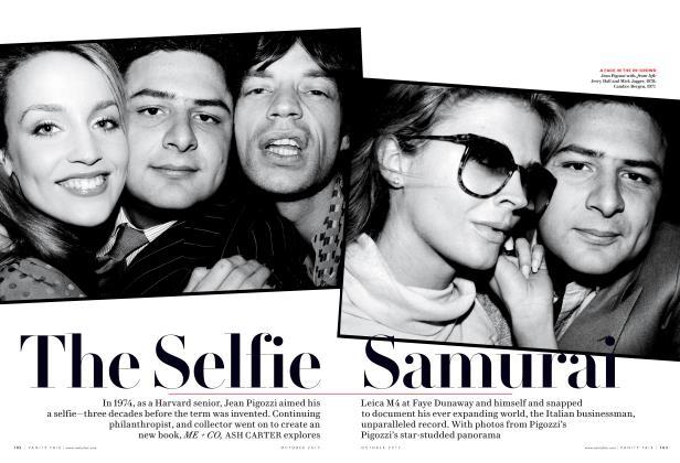 Article Preview: The Selfie Samurai, October 2017 | Vanity Fair