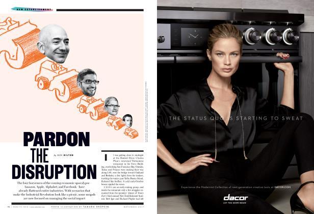 Article Preview: PARDON THE DISRUPTION, November 2017 2017 | Vanity Fair