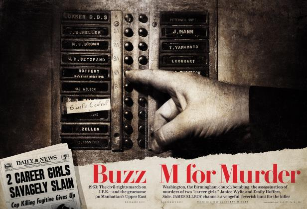 Article Preview: Buzz M for Murder, November 2017 | Vanity Fair