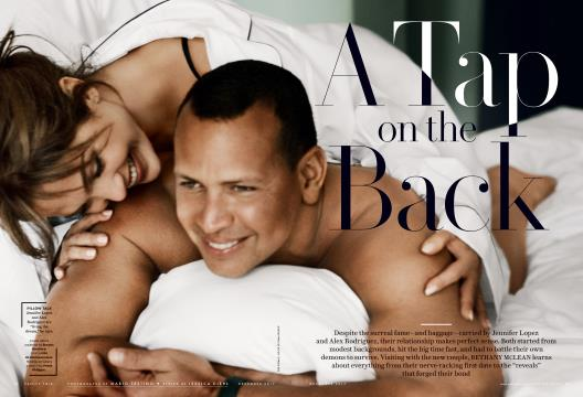 A Tap on the Back - December | Vanity Fair