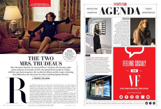 Article Preview: THE TWO MRS. TRUDEAUS, December 2017 | Vanity Fair
