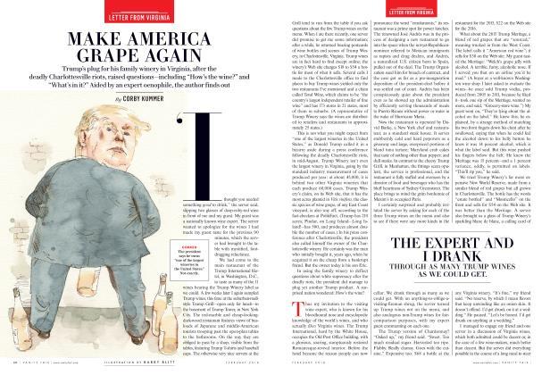 Article Preview: MAKE AMERICA GRAPE AGAIN, February 2018 | Vanity Fair