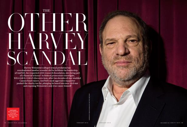 Article Preview: THE OTHER HARVEY SCANDAL, February 2018 | Vanity Fair
