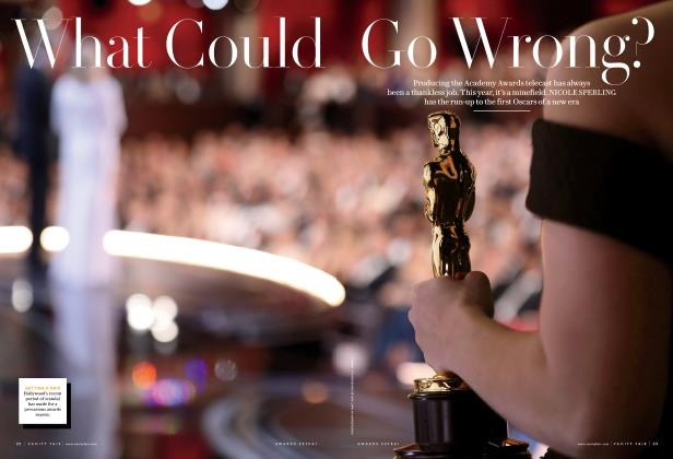 Article Preview: What Could Go Wrong?, Special Edition 2018 | Vanity Fair