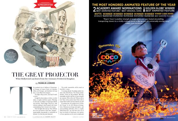 Article Preview: THE GREAT PROJECTOR, Special Edition 2018 | Vanity Fair