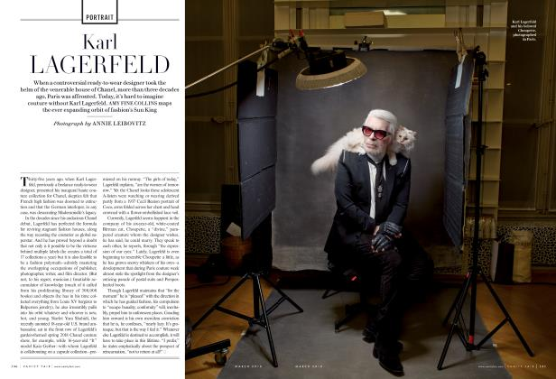Article Preview: Karl Lagerfeld, March 2018 2018 | Vanity Fair