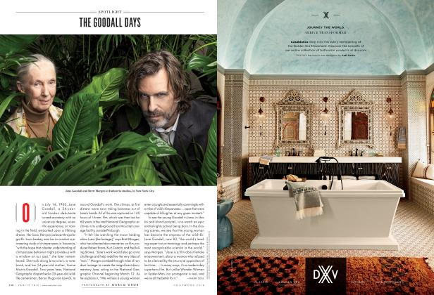 Article Preview: THE GOODALL DAYS, Hollywood 2018 2018   Vanity Fair