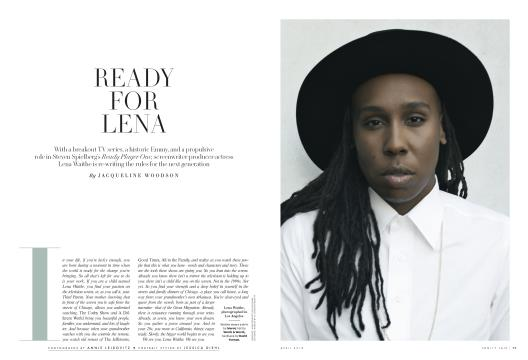 READY FOR LENA - April | Vanity Fair