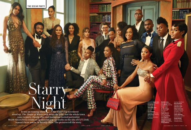 Article Preview: Starry Night, April 2018 2018 | Vanity Fair