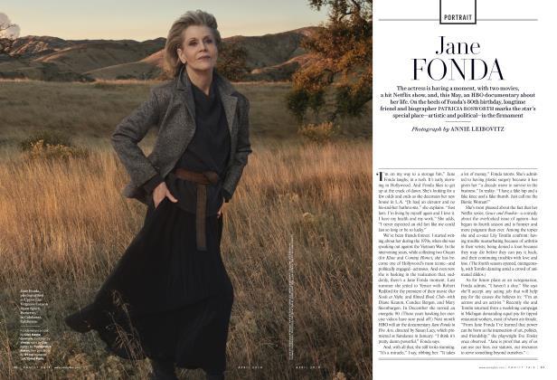 Article Preview: JANE FONDA, April 2018 2018 | Vanity Fair