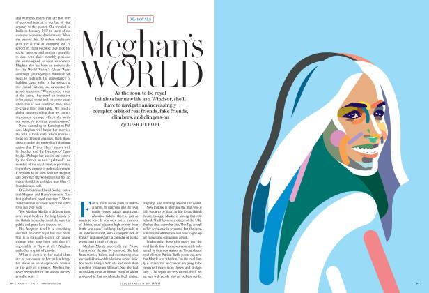 Article Preview: Meghan's WORLD, May 2018 2018 | Vanity Fair